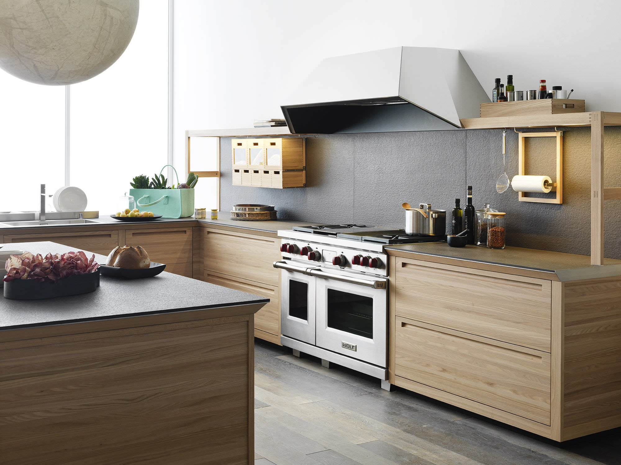 Cuisine bois et marbre - sofag